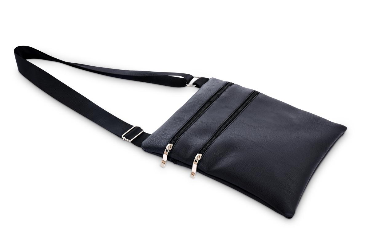 CROSSBAG ZIPPER kabelka přes rameno   černá