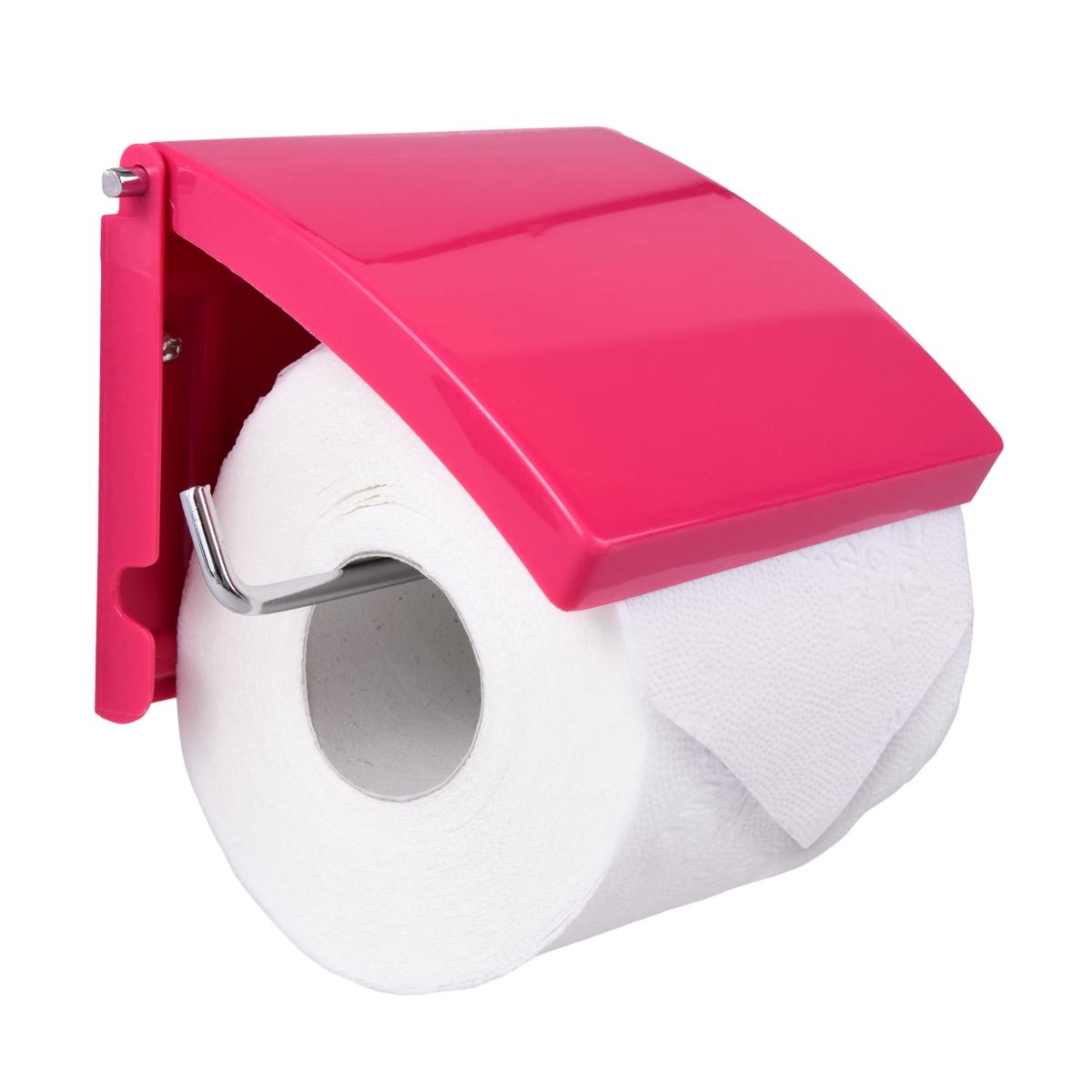Držák toaletního papíru malinový