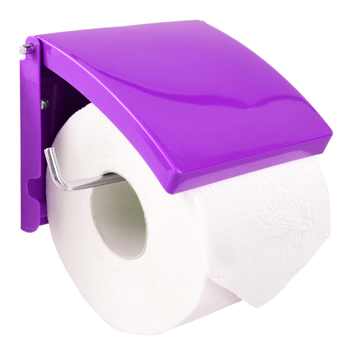 Držák toaletního papíru šeříkově fialový
