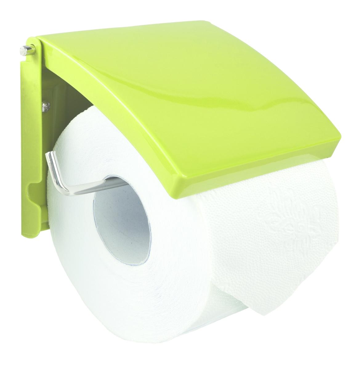 Držák toaletního papíru jasně zelený
