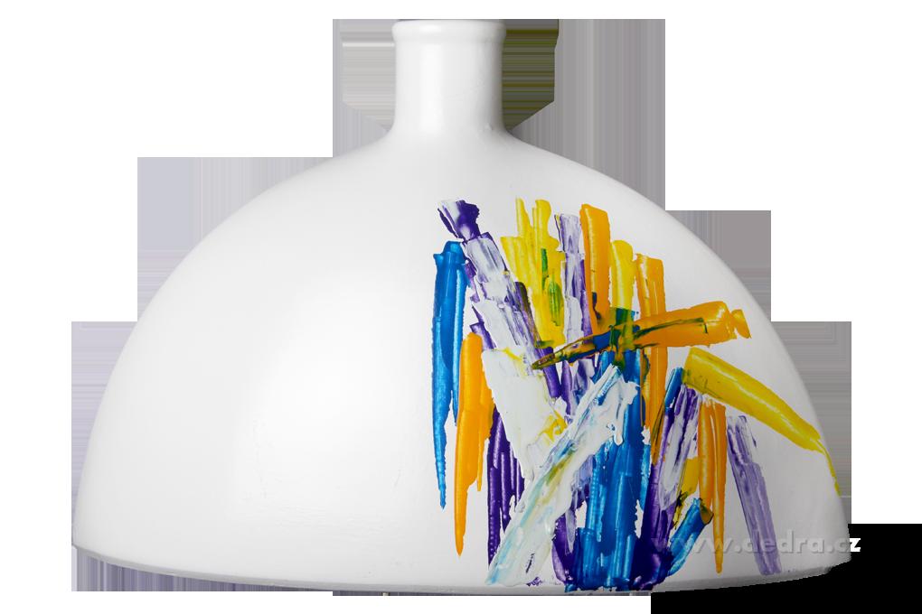 ABSTRACSVelká ručně malovanákeramická váza