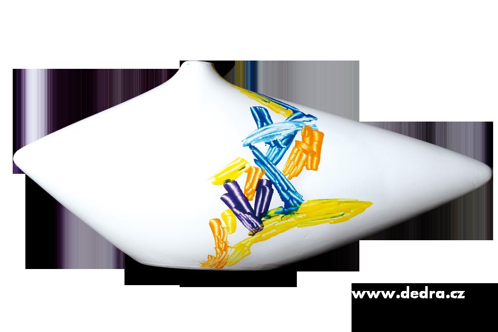 ABSTRACSŠiroká ručněmalovaná keramická
