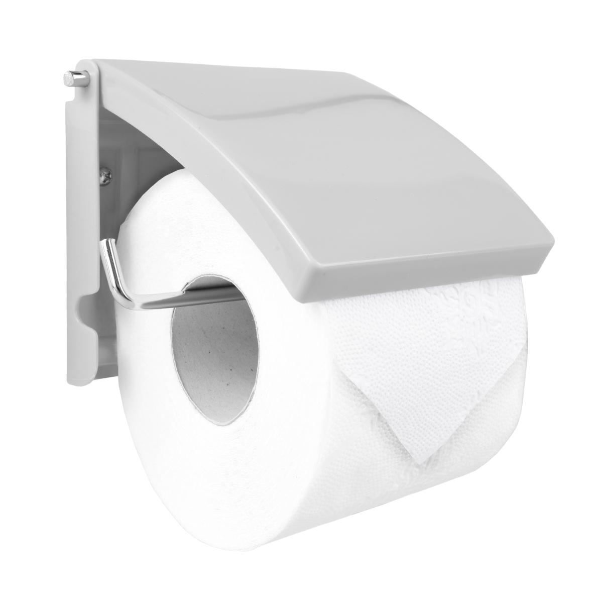 Držák toaletního papíru šedý