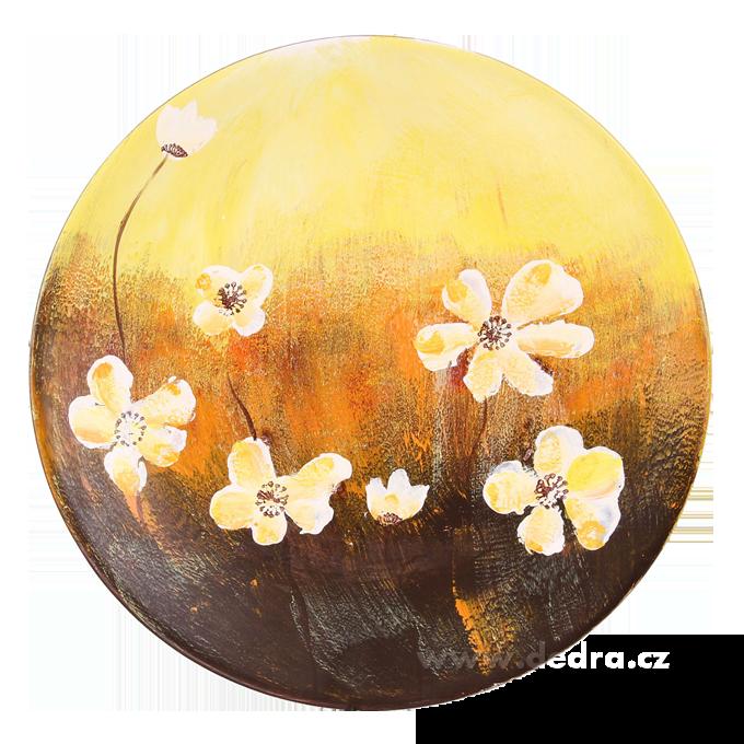 SEASONSVelký ručně malovanýkeramický talíř