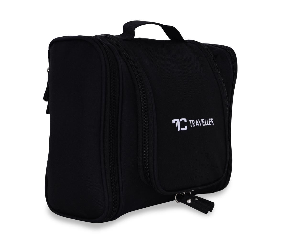 FC20501-Traveller cestovné organizér na toaletné potreby čierny