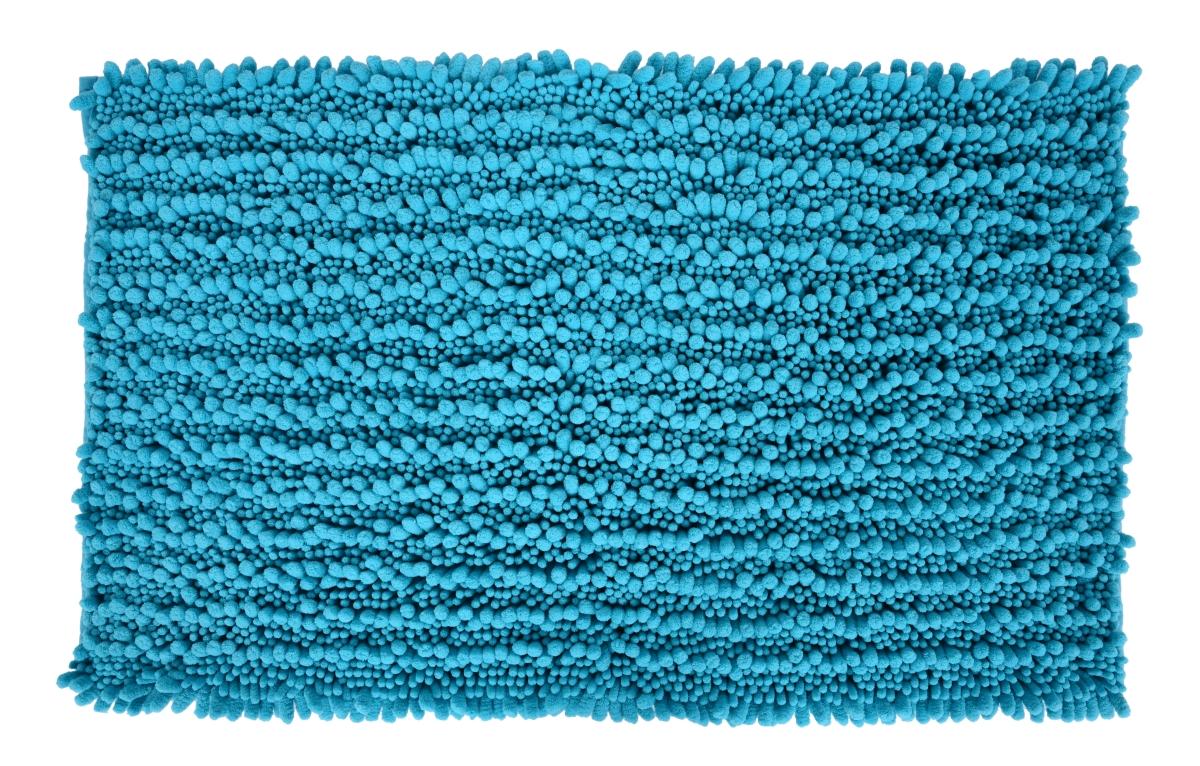 3D CORAL koupelnová předložka tyrkysově modrá