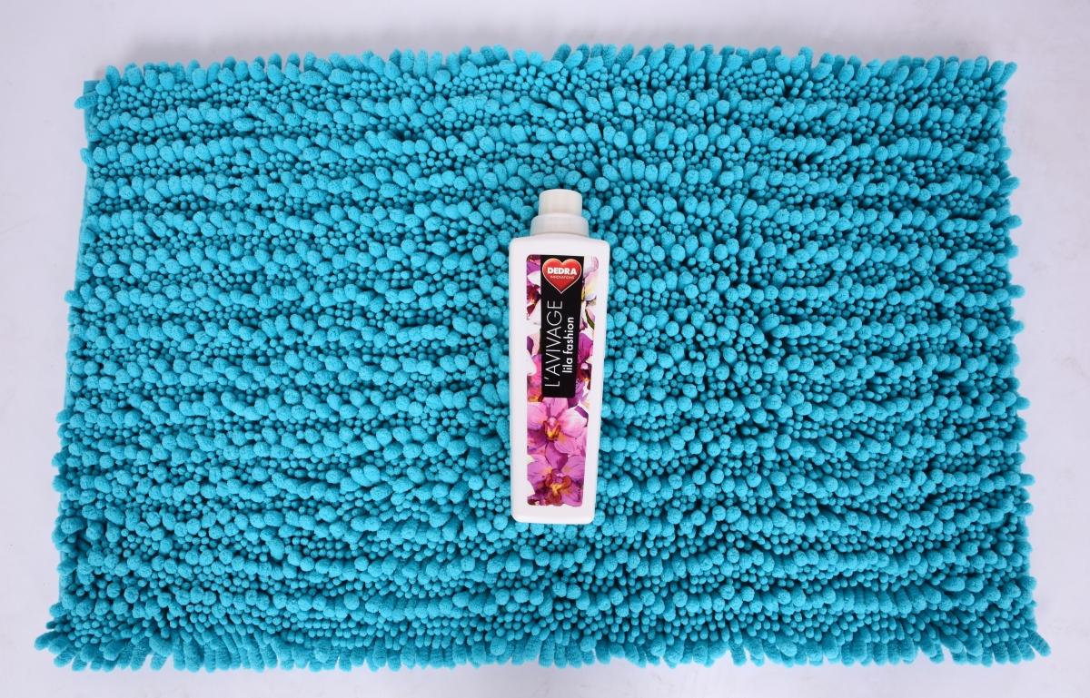 FC20546-3D CORAL kúpeľňová predložka tyrkysovo modrá