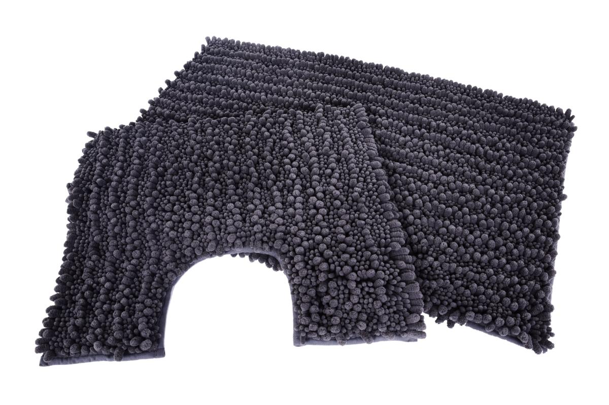 FC20543-3D CORAL kúpeľňová predložka antracitová