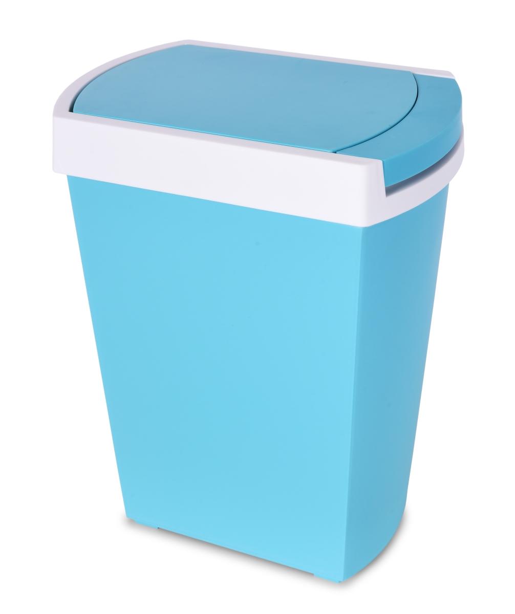 TOUCH & OPEN odpadkový koš dotykový, modrý