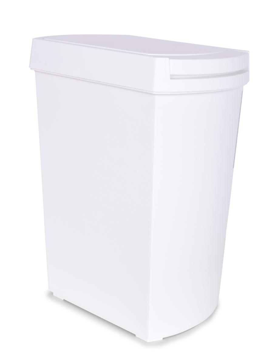 TOUCH & OPEN odpadkový koš dotykový, bílý