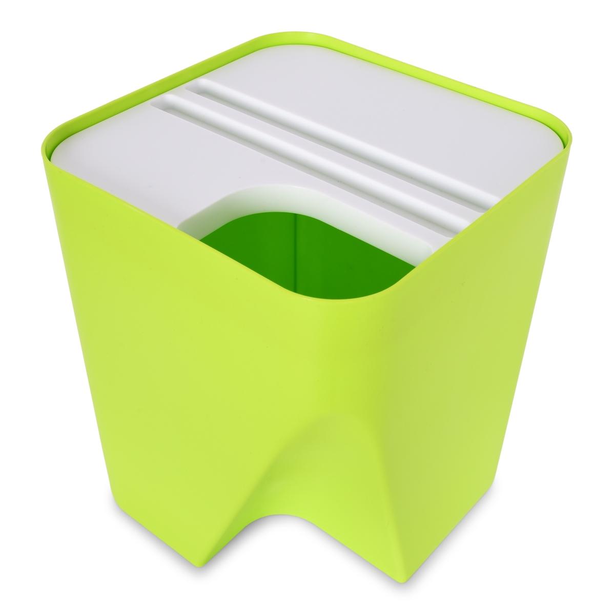 TOTEMUS designový koš stohovatelný, zelený
