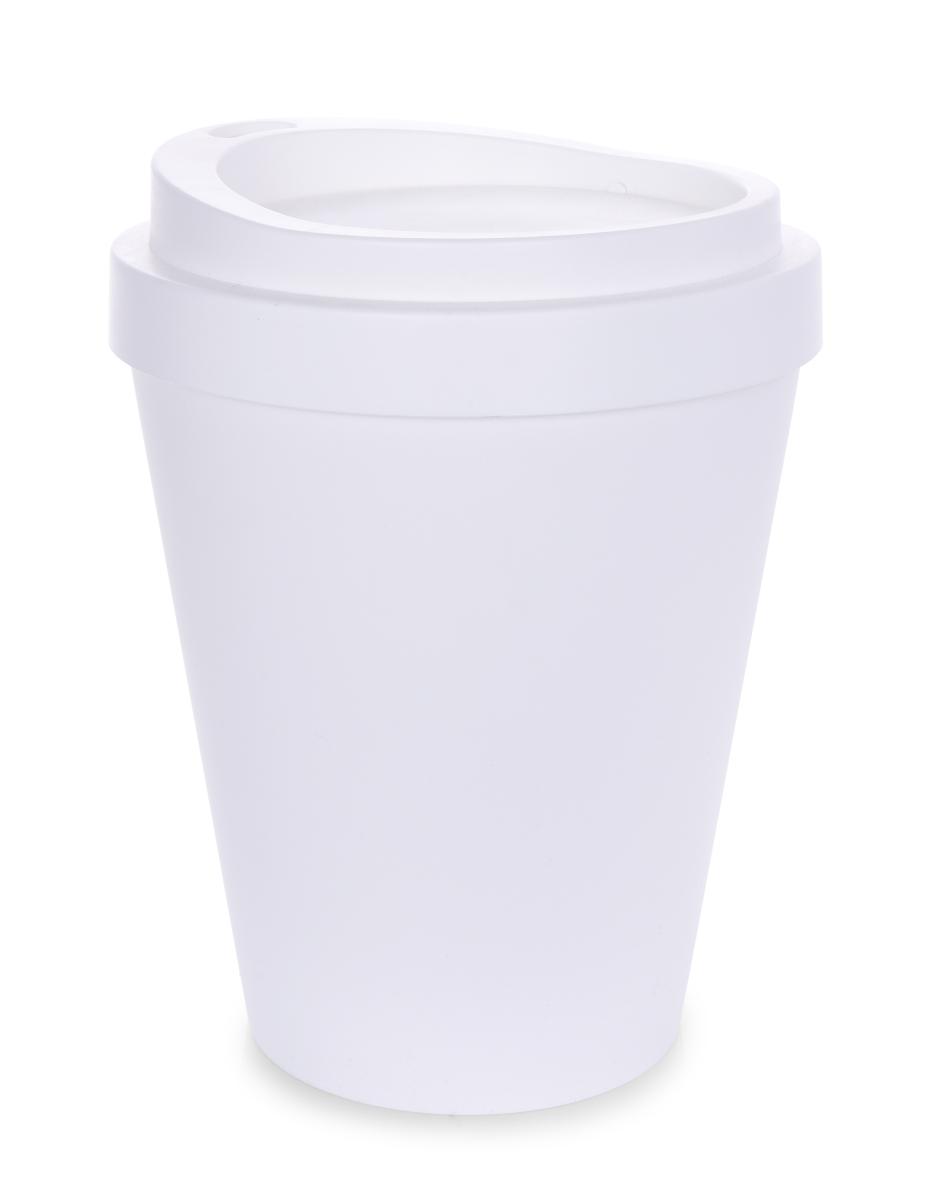 KELIMERO designový  odpadkový koš bílý