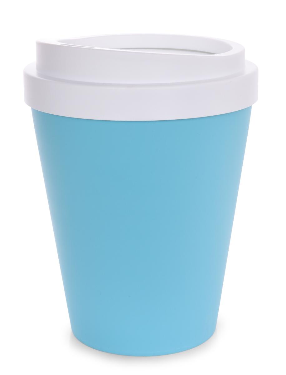 KELIMERO designový  odpadkový koš tyrkysový