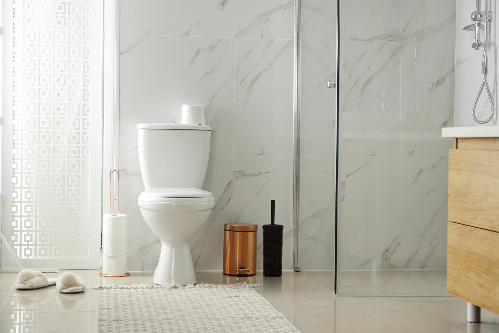 WC štětka, volně stojící