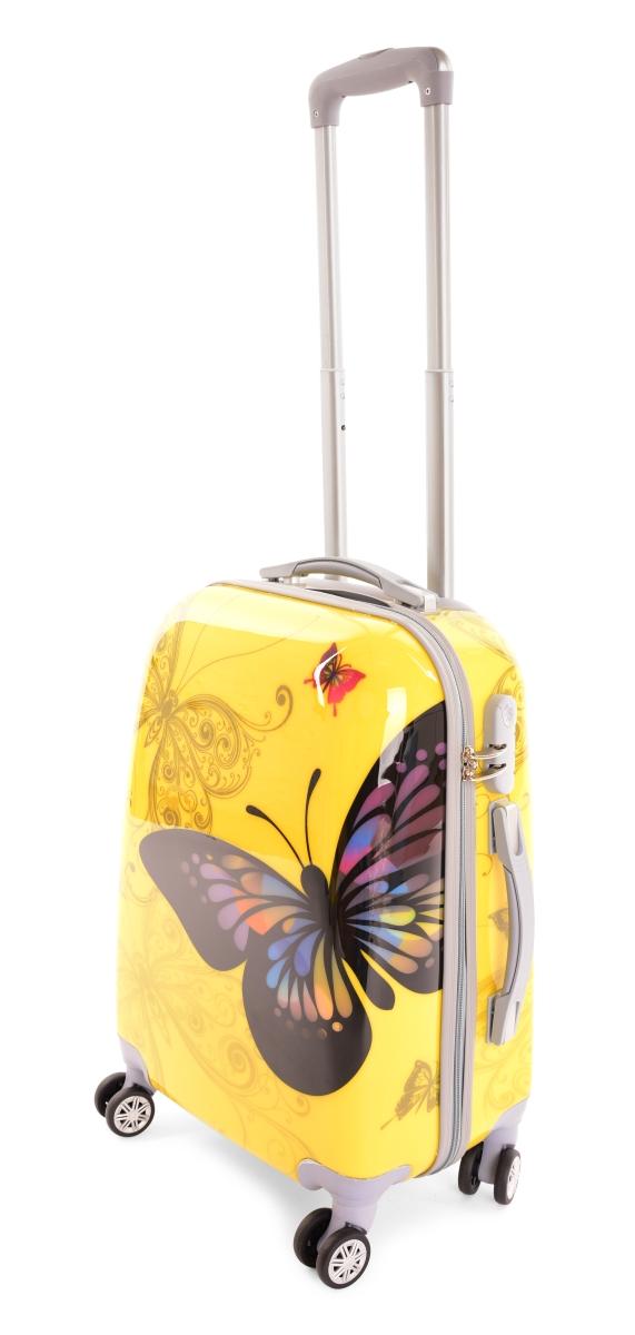 Kufr menší, YELLOW BUTTERFLY