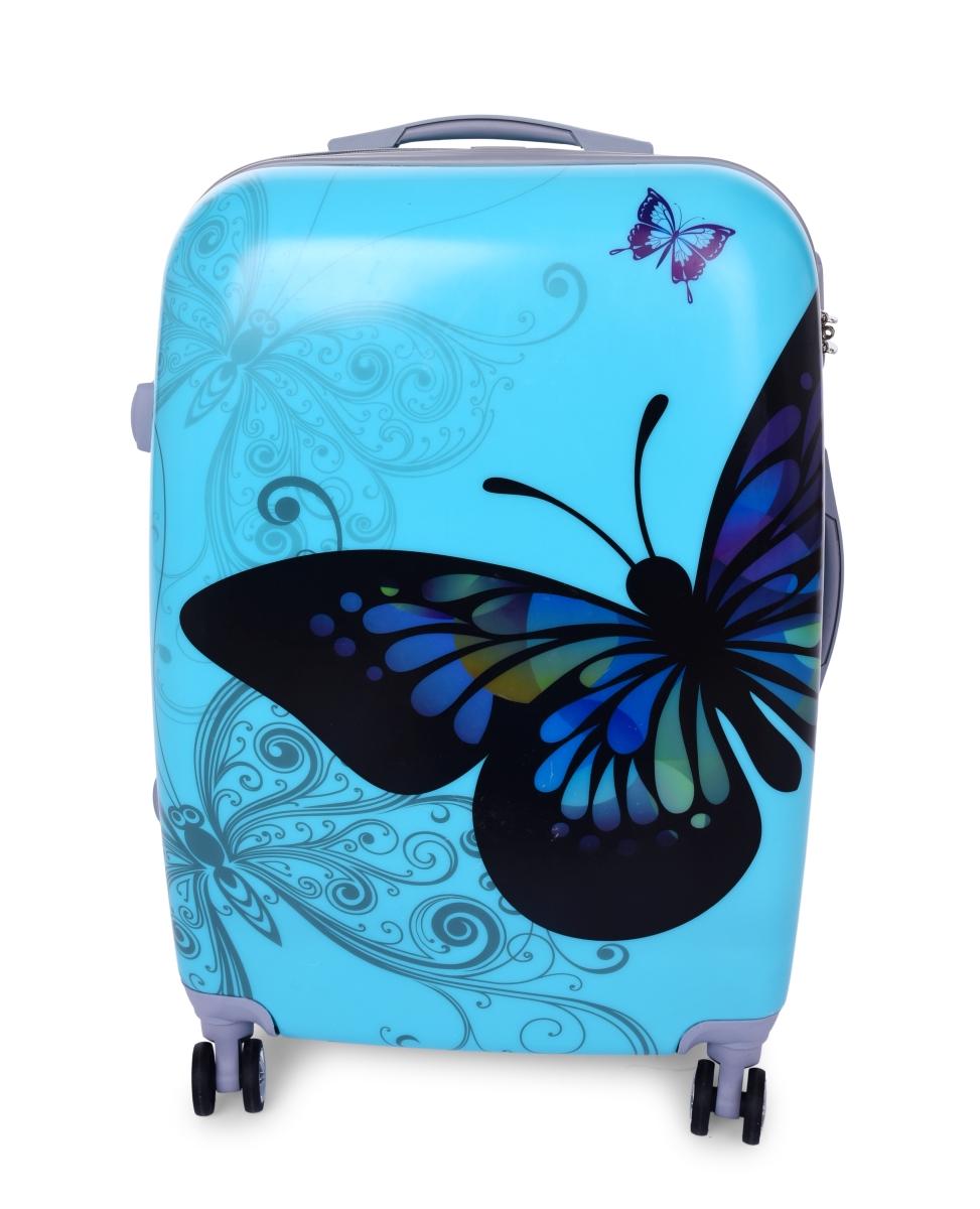 Kufr velký BLUE BUTTERFLY 50 x 30 x 70 cm