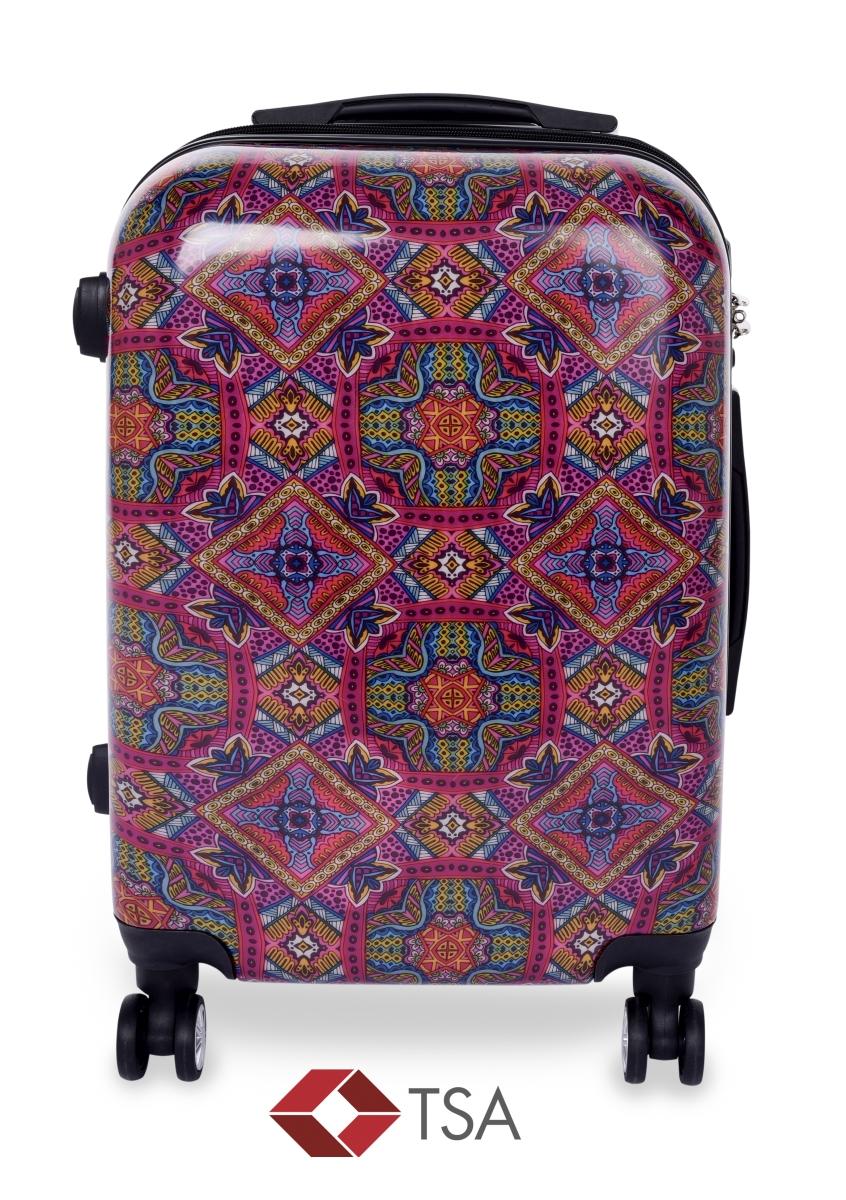 TSA kufr menší MANDALA ORNAMENTS 37 x 23 x 50 cm