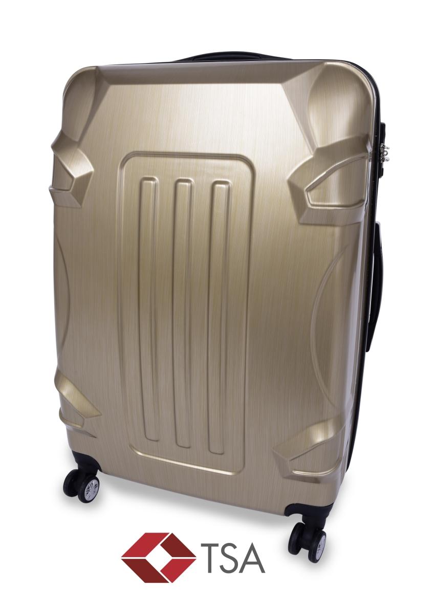 TSA kufr velký GOLD RELIEF 50 x 30 x 70 cm