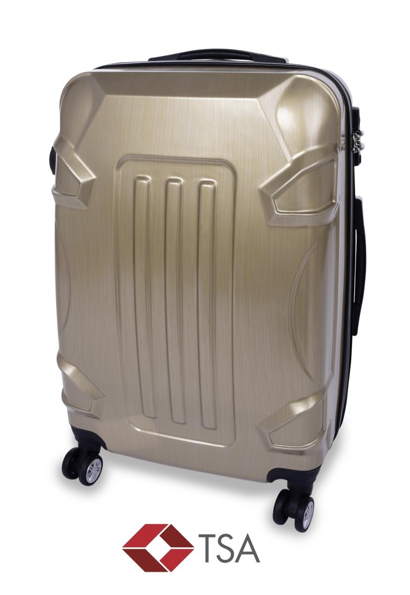 TSA kufr střední GOLD RELIEF 44 x 26 x 60 cm