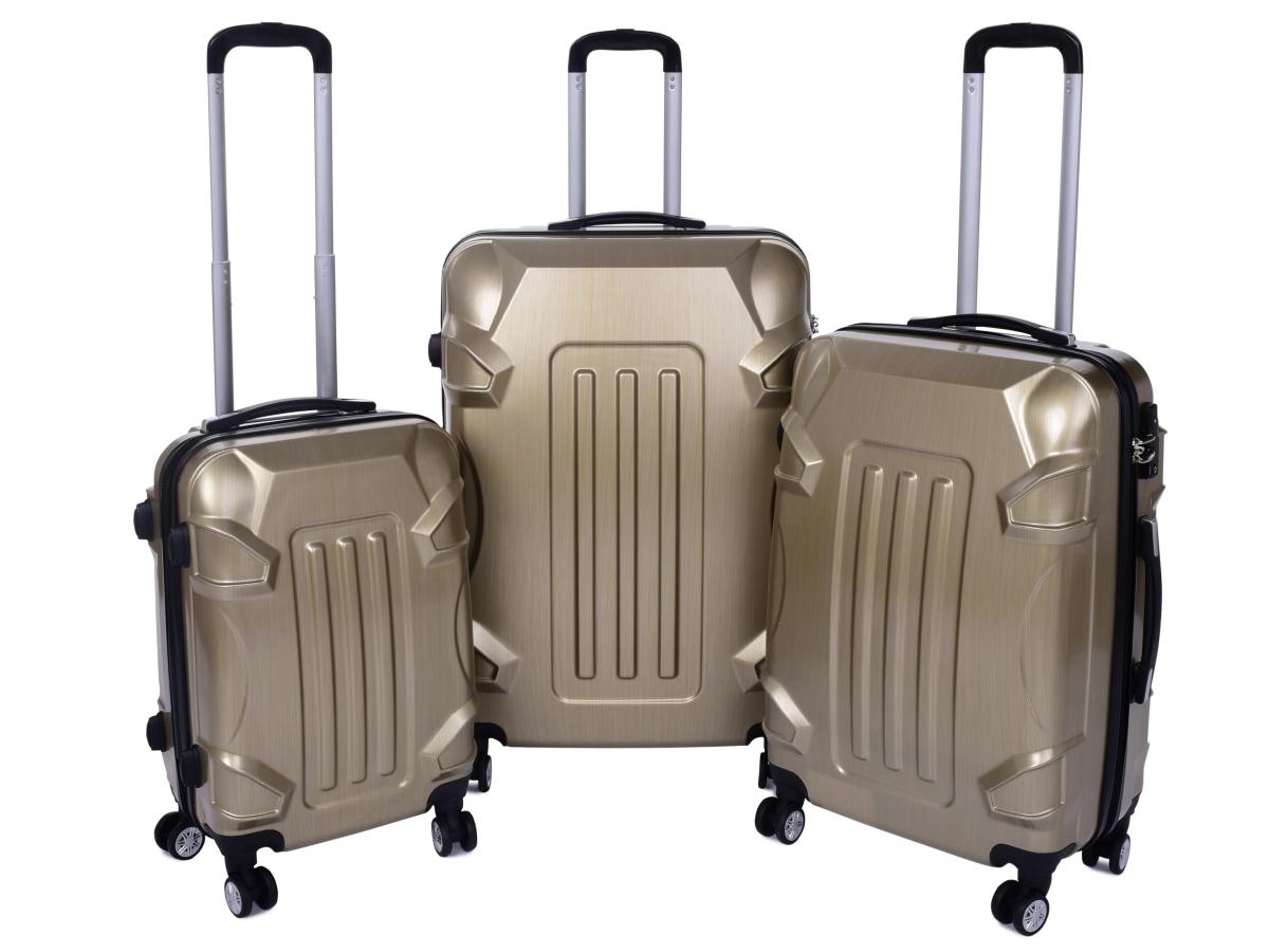 TSA kufr menší GOLD RELIEF 37 x 23 x 50 cm