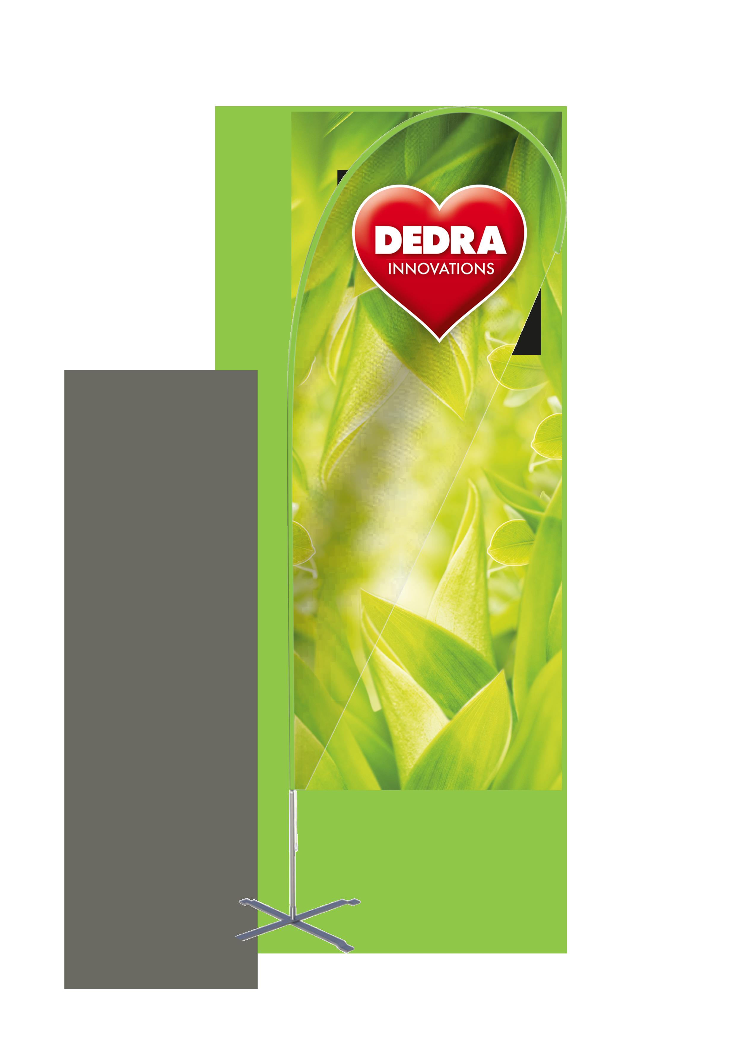 Reklamní vlajka, DEDRA