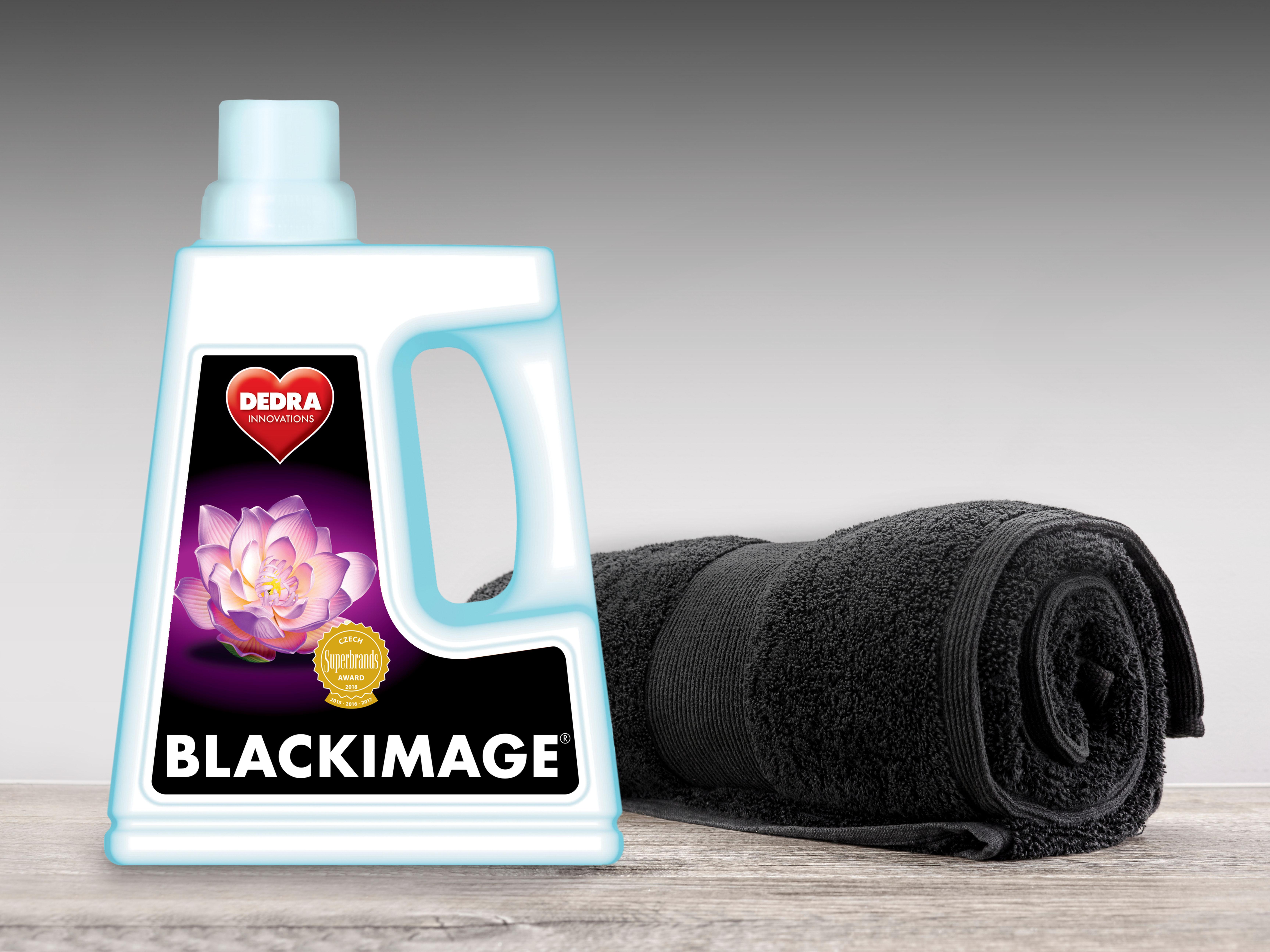 BLACKIMAGE gel na praní černého a tmavého prádla, 30 praní