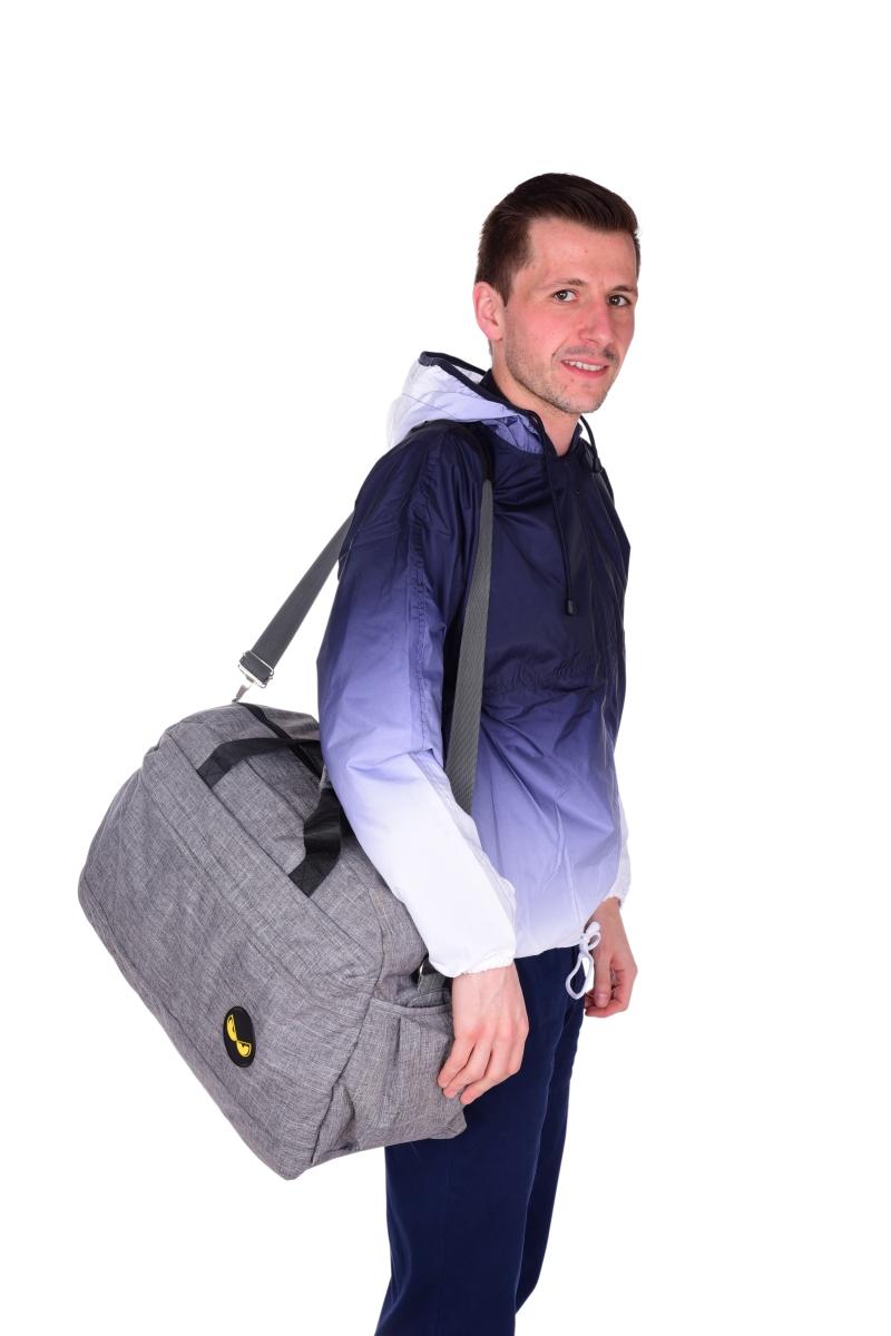 SPORT & WEEKENDER sportovní taška REBELITO® šedá