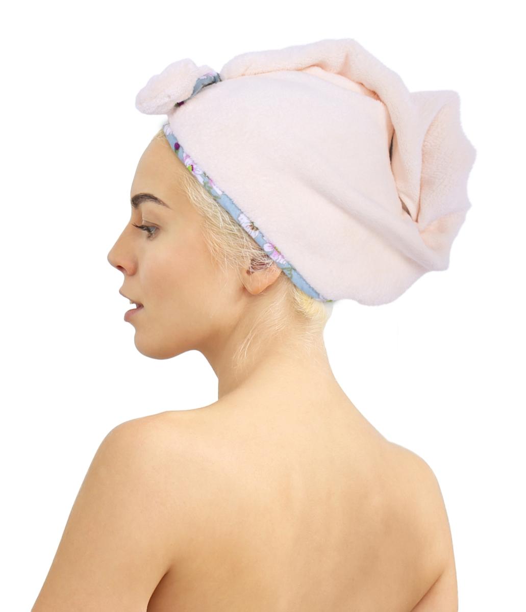 TURBAN na vysušení vlasů LAGOON TOUCH cream