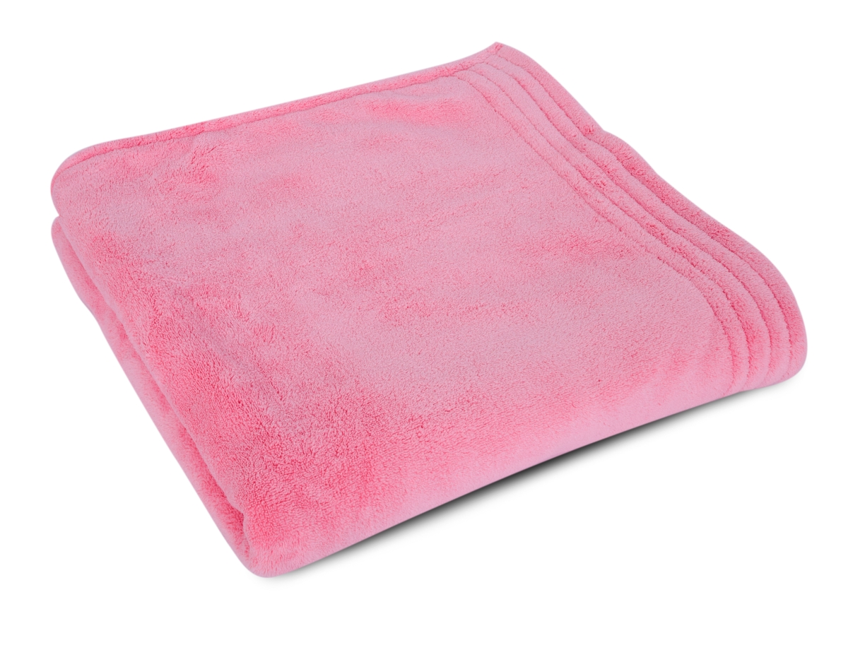 VELKÁ OSUŠKA s ozdobnou bordurou LAGOON TOUCH pink