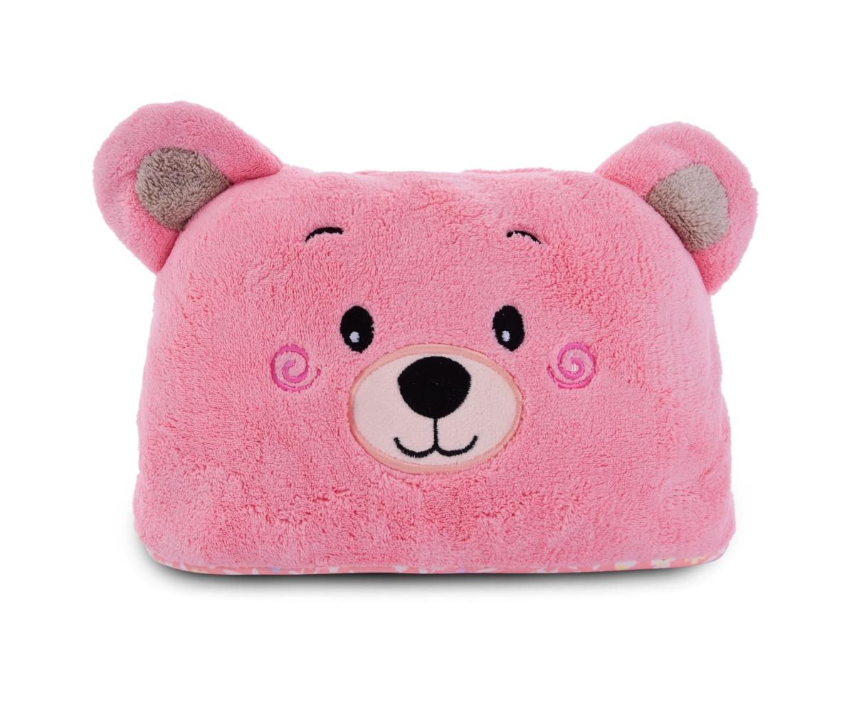 MEDVÍDEK dětská osuška/pončo LAGOON TOUCH pink