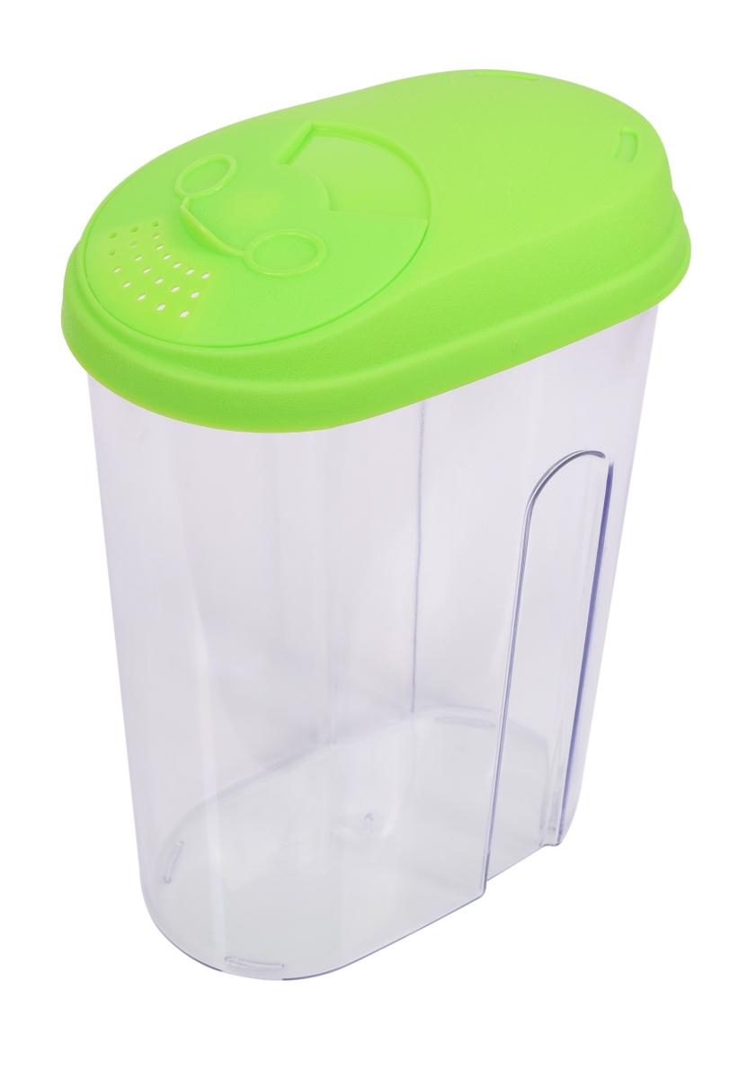 BOX na potraviny s vekom 1700 ml zelený
