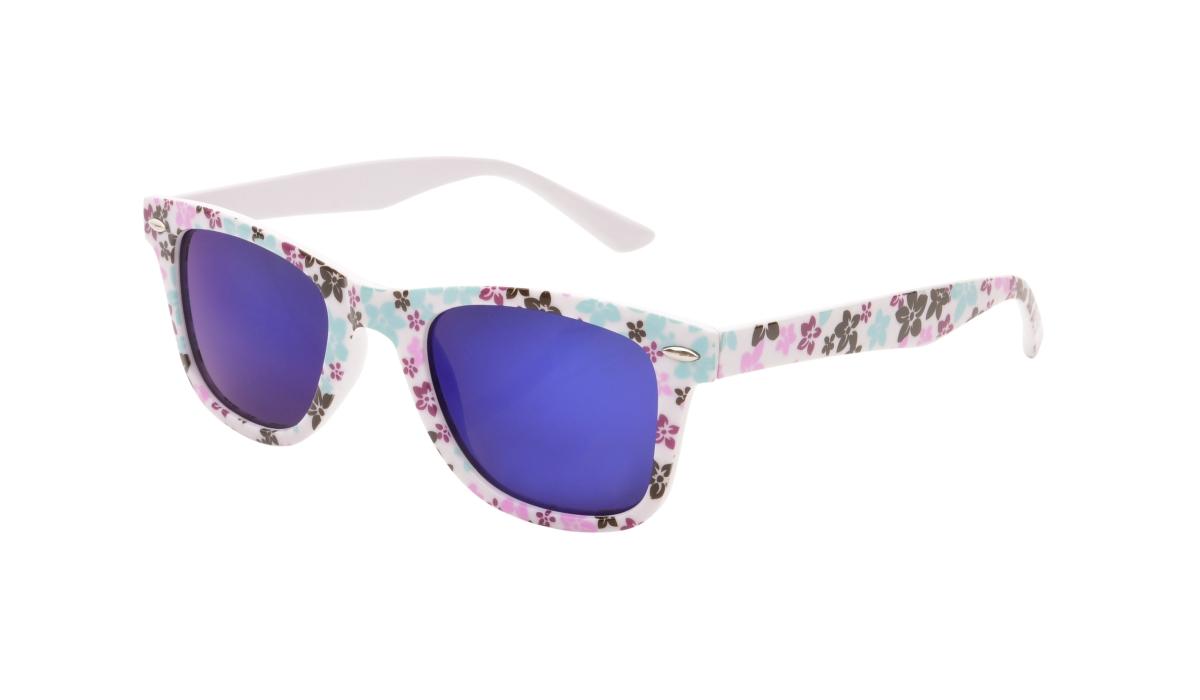 Sluneční brýle  100% UV ochrana pastelové květy