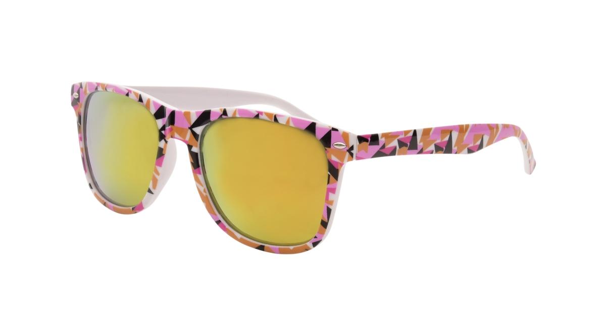 Sluneční brýle  100% UV ochrana geometric