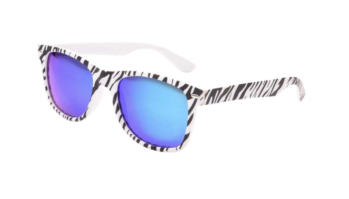 Sluneční brýle  100% UV ochrana zebrované
