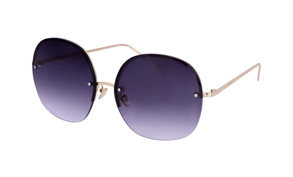 Sluneční brýle  BARDOTKY grey&gold