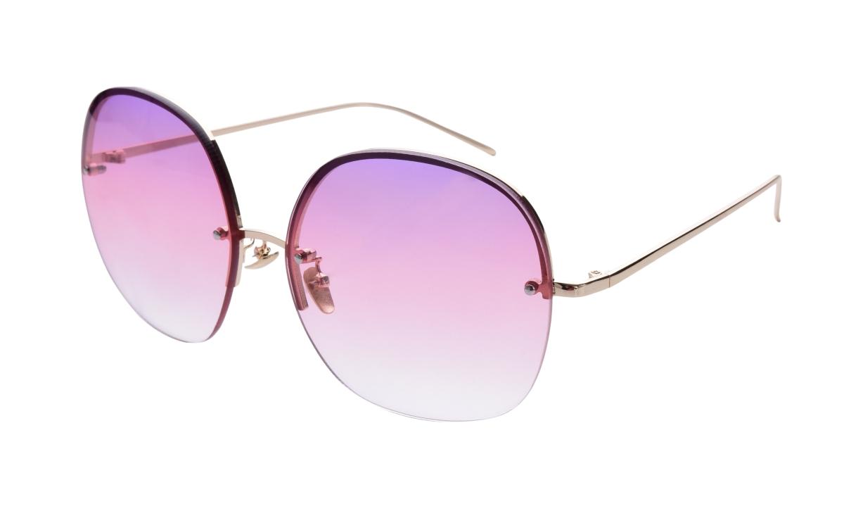 Sluneční brýle  BARDOTKY pink&gold