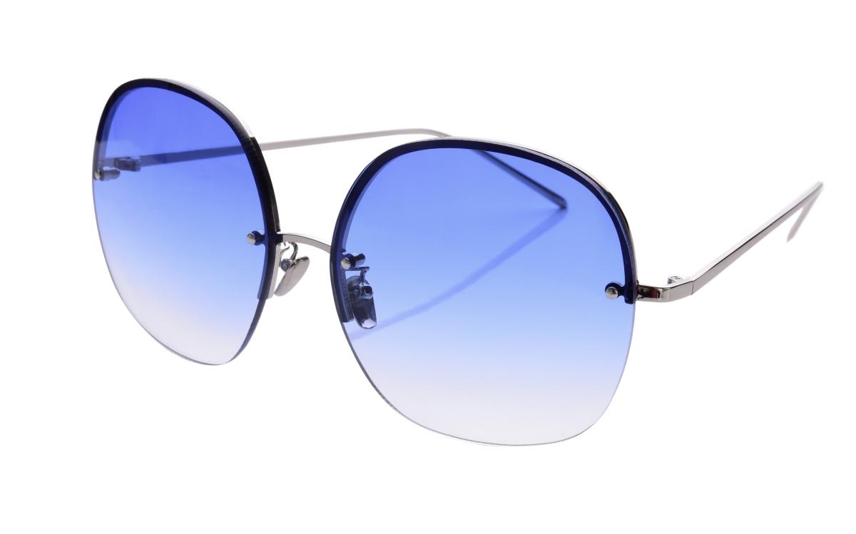 Sluneční brýle  BARDOTKY blue&silver