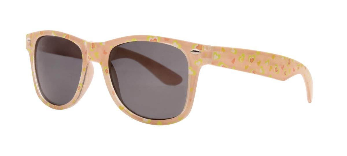 Sluneční brýle dětské se srdíčky 100% UV ochrana