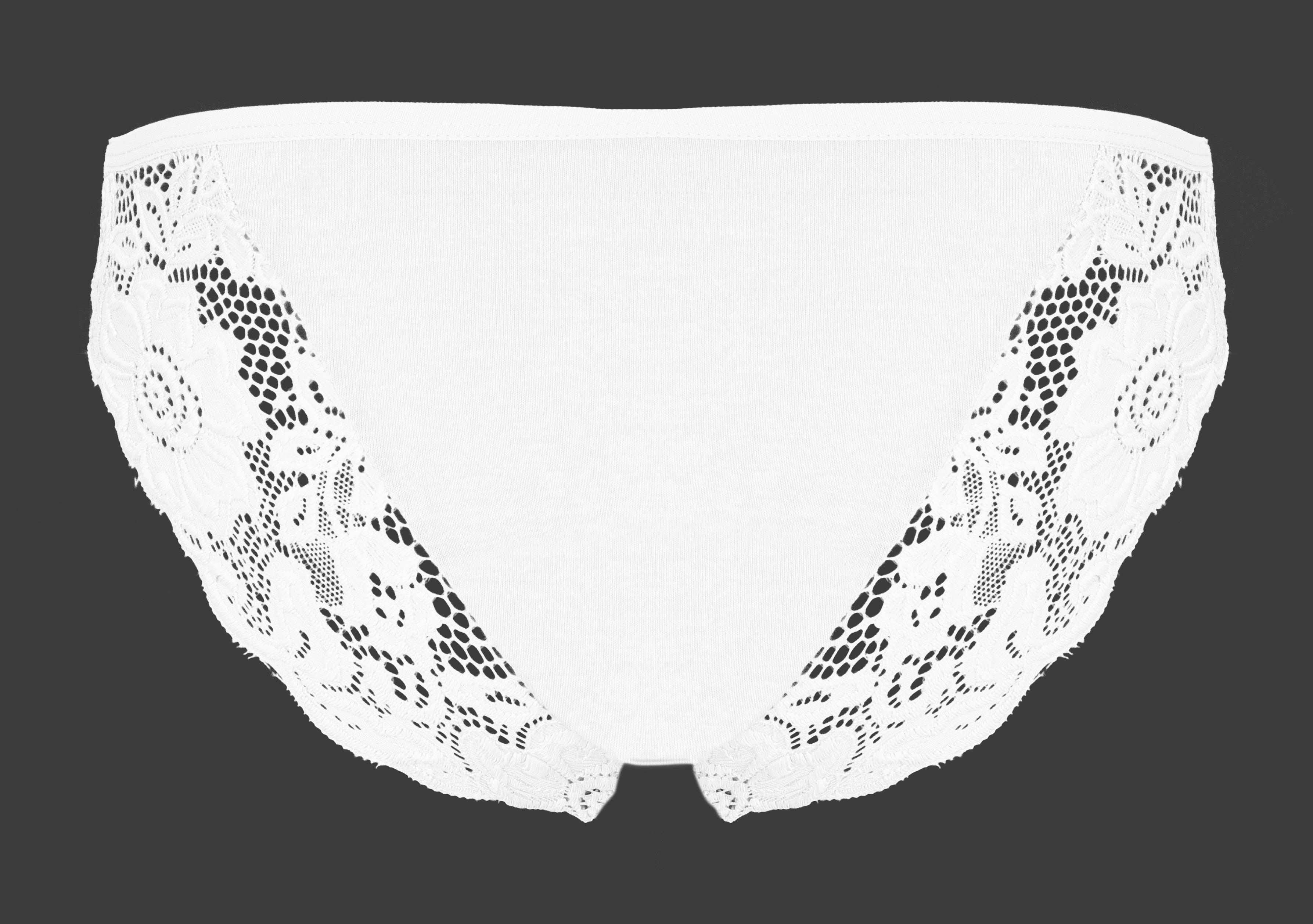 FC21611-Nohavičky Brazílčanka biele