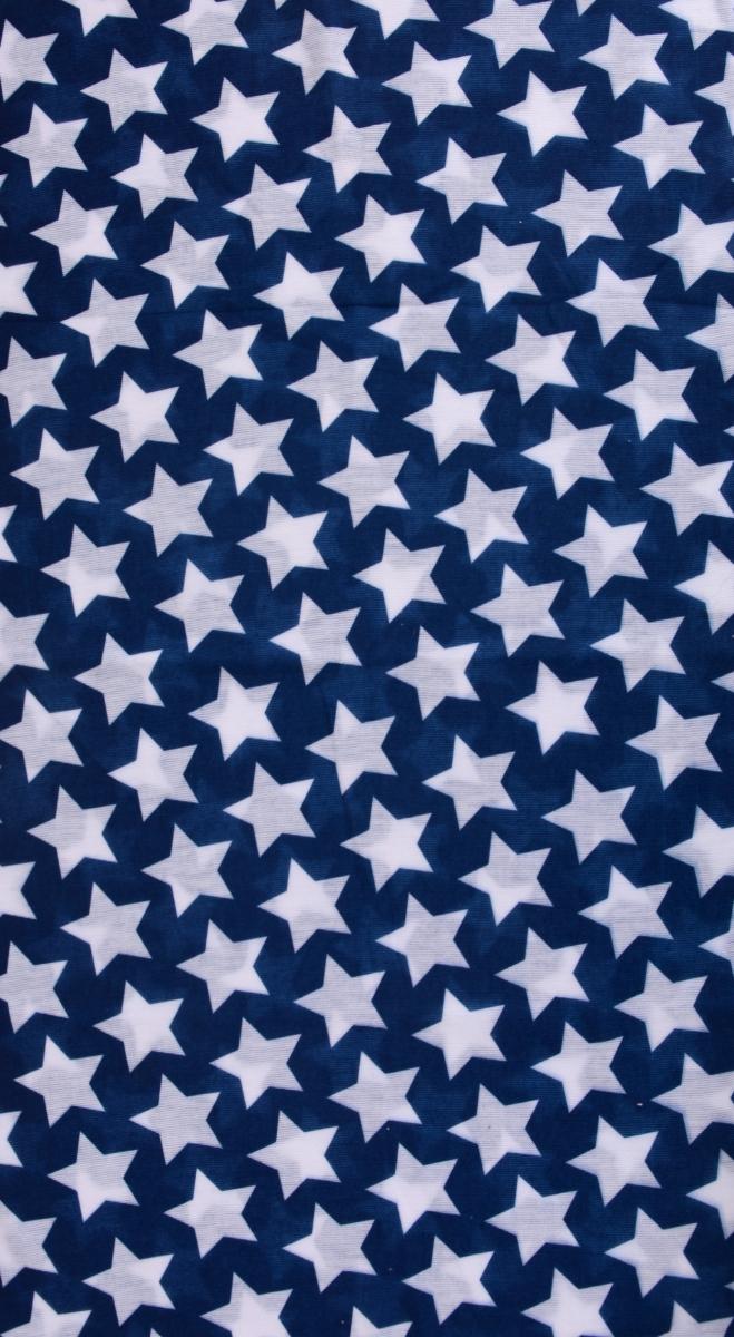 Multifunkčníšátek modrý s hvězdami
