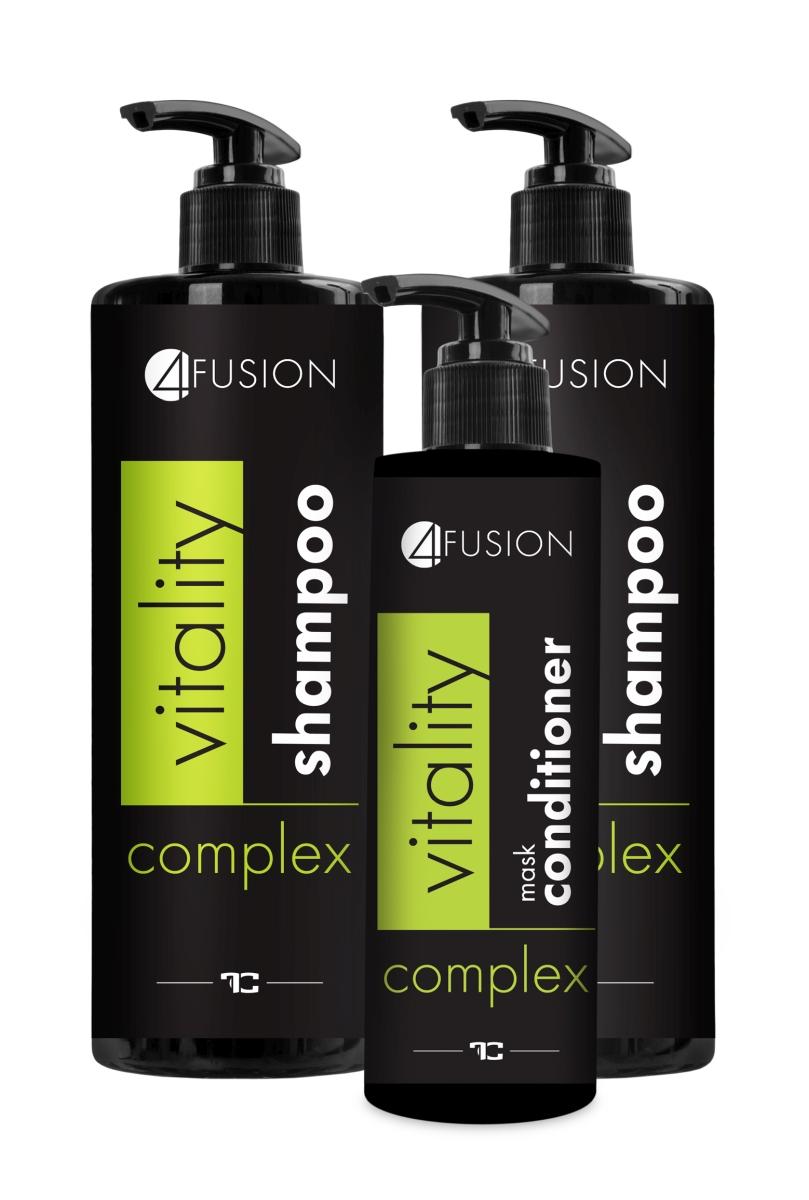 VITALITY COMPLEX 3 dílná sada péče o vlasy