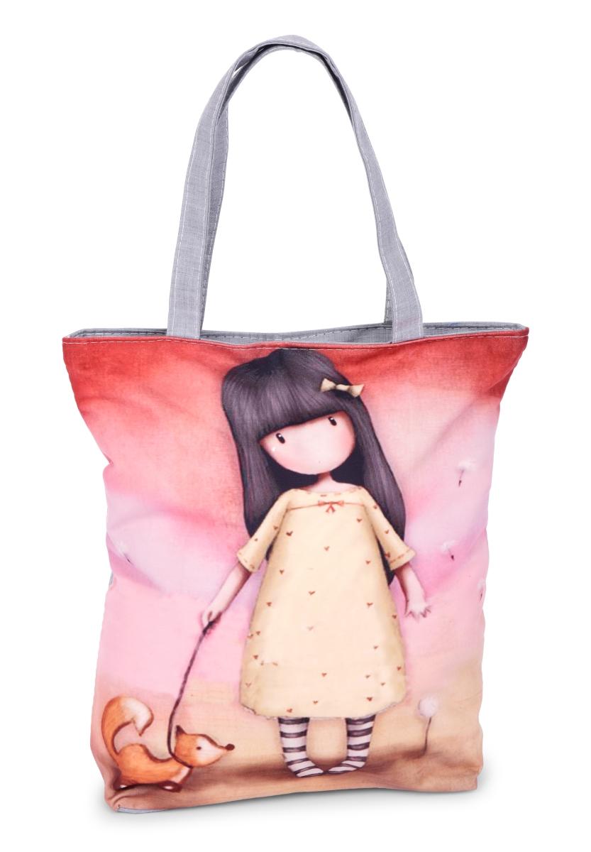 Elegantní kabelka/taška  textilní  girl with fox