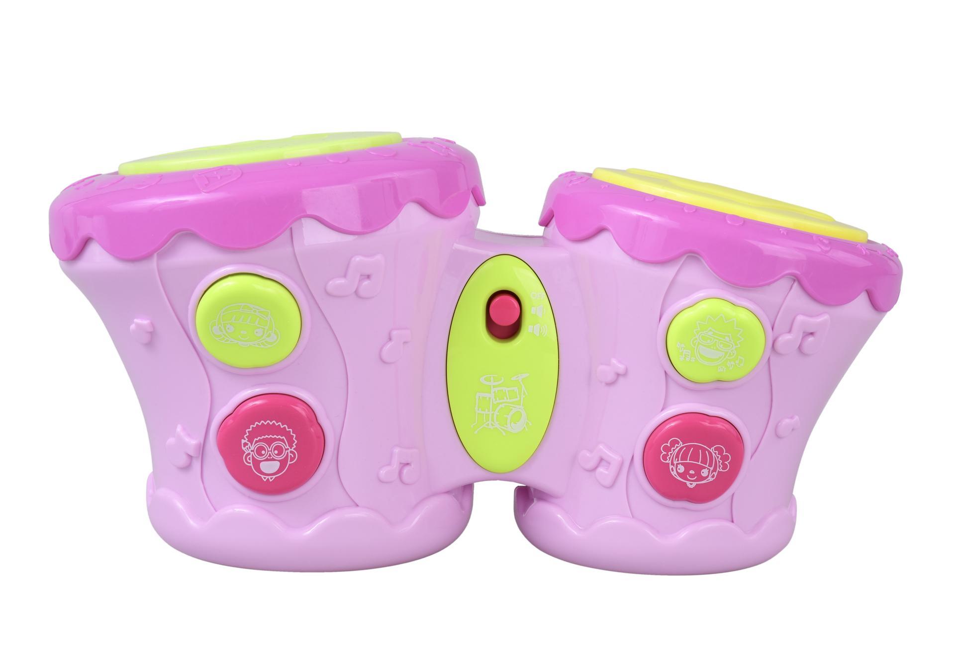 Interaktivní DUO hrací bubínky, hudební hračka