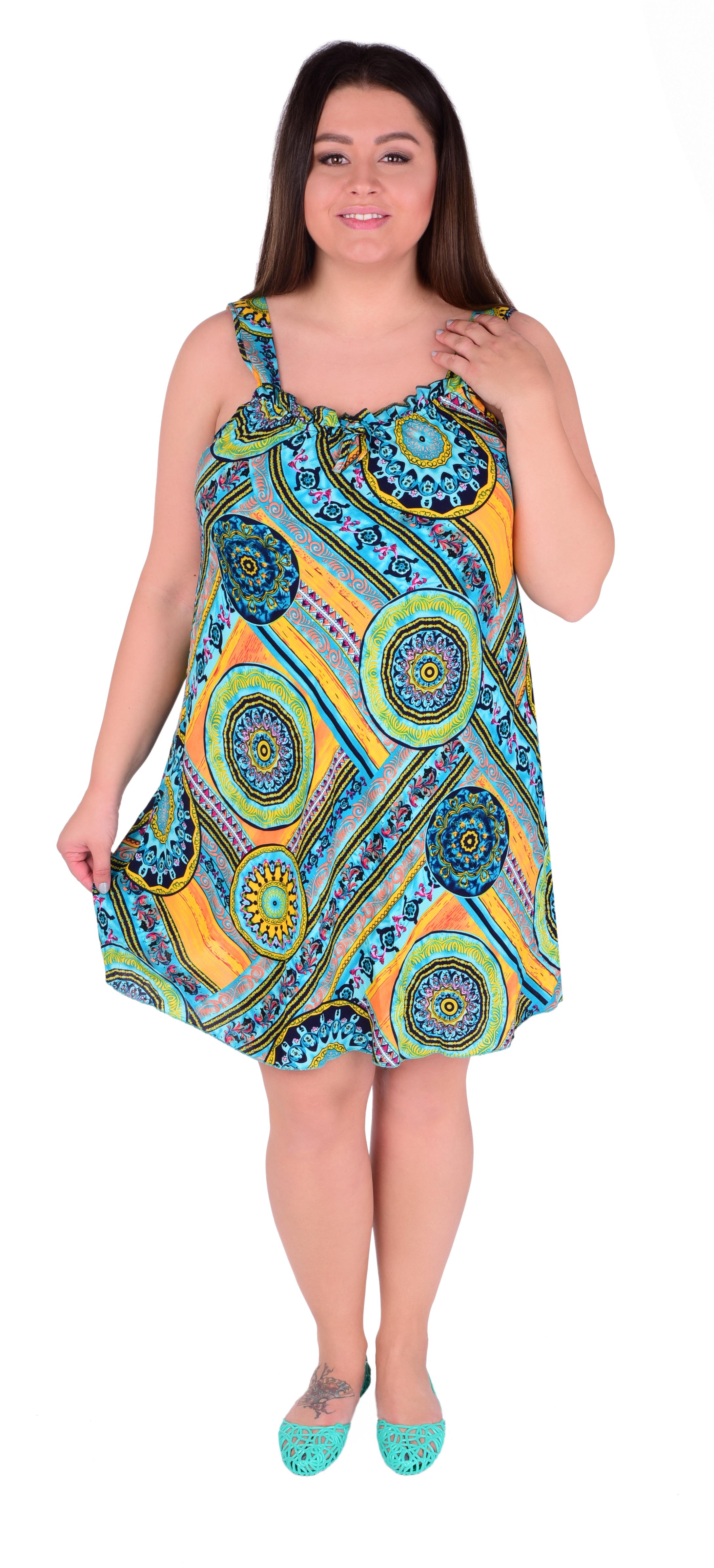 ALICIA mandala ornamets vzdušné šaty
