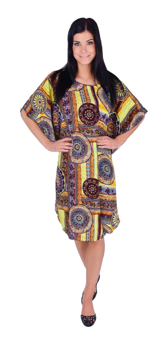 FC22011-ADELE mandala ornamets vzdušné šaty