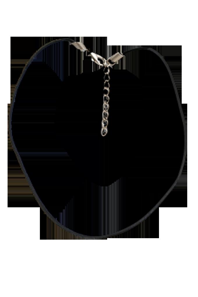 Kožená šňůrka na krk 50 cm k zavěšení přívěšků
