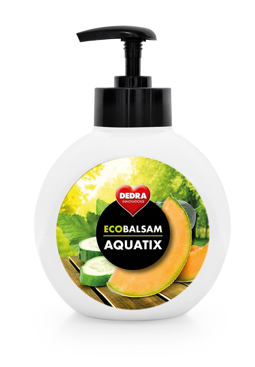 ECOBALSAM AQUATIX koncentrát na ruční mytí nádobí,  cucumber & cantaloupe  s pumpičkou