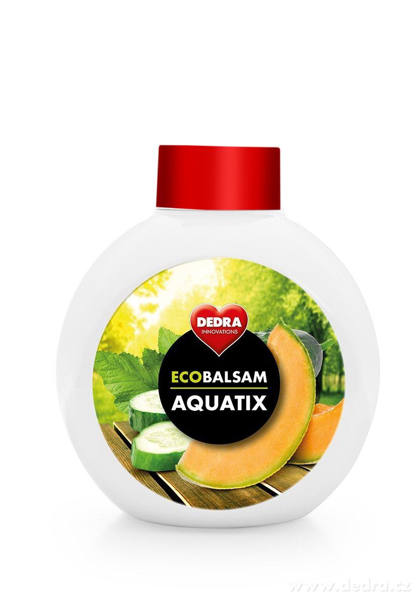 EKO koncentrát na ruční mytí nádobí, ECOBALSAM AQUATIX cucumber & cantaloupe, bez pumpičky