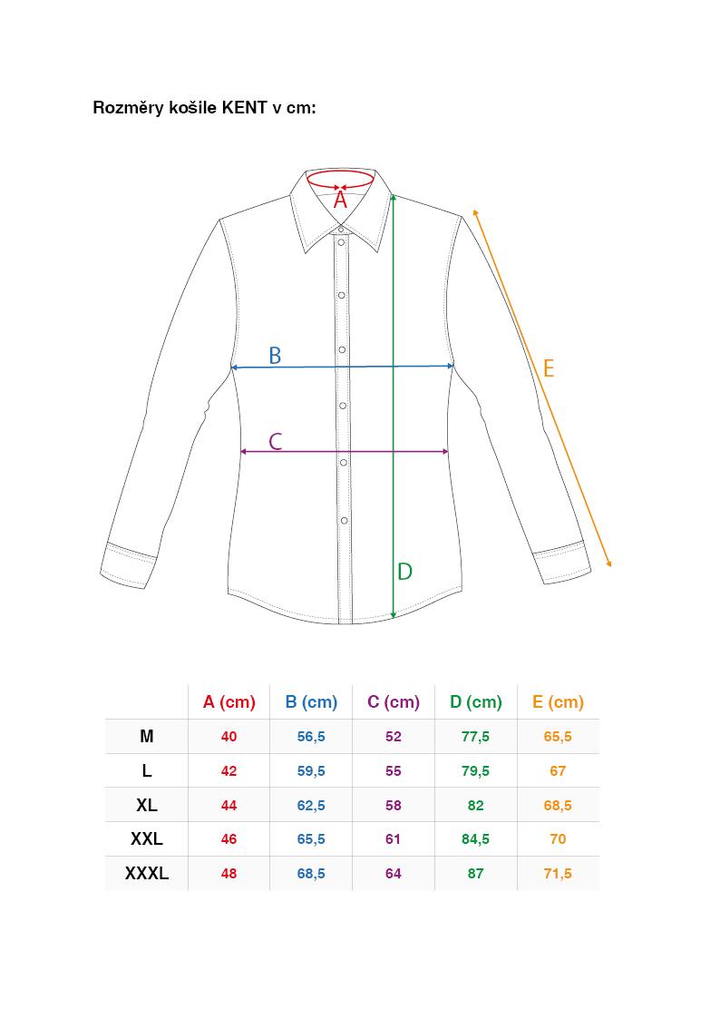 FC2216M-KENT DENSEFORSÉ® košeľa slim fit s dlhým rukávom ornaments