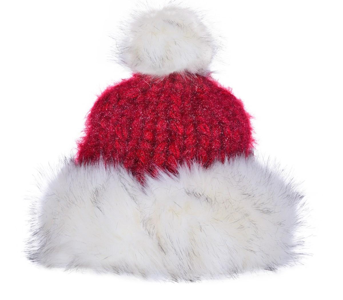 Ručně pletená čepice s hřejivou podšívkou POLARIS